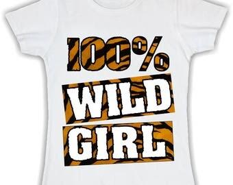 Women's Basic t shirt -100% wildgirl