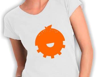 Women's V neck t shirt Clockwork Orange