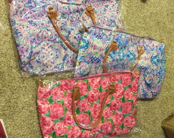 PREORDER Lilly inspired weekender, Lilly weekender, Lilly duffle bag