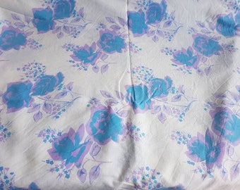 Vintage Sheet - Single Flat - Flowers