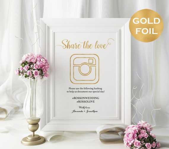 Share The Love Sign Instant Download