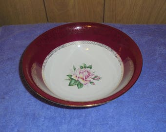 """Set of 5 Vintage Homer Laughlin Lady Stratford Pattern Dessert/Berry Bowls 5 1/2"""""""