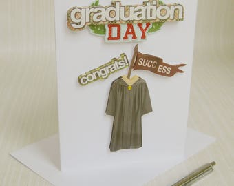 Sons Graduation Card, Graduation Card, Daughters Graduatation, Graduacion Tarjeta, College Graduate, Congratulations Card, Graduation Day