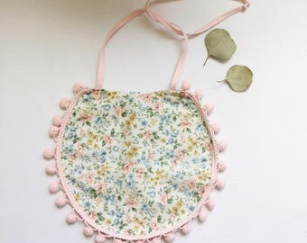 Floral Bib for your little Darling