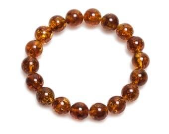 baltic amber bracelet 16,5gr cognac color Luxamber 琥珀手链