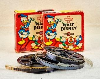 Two Vintage Walt Disney films. German language. About Donald Duck.