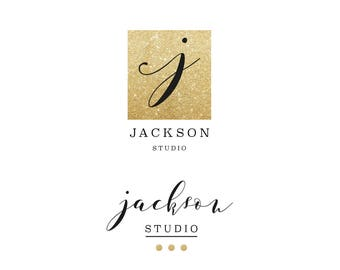 Gold Pre-made Logo Design, Luxury Design, Fashion Logo, Branding, Photography, Luxury Logo, Business Logo, Fashion Blogger Logo  JRAZ_015