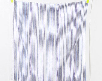 Nani Iro double gauze - BLUE SAAAA SAAA-Shimanto fabric - 50cm