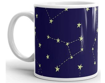 Constellation Mug, Constellation Coffee Mug, Astronomy Mug, Astronomy Coffee Mug, Constellation Gifts, Astronomy Gifts, Horoscope Mug