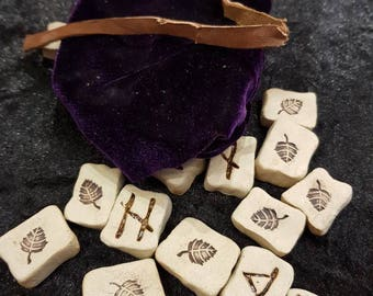 Handcrafted Rune Stones by Shaman Jeremy R J White