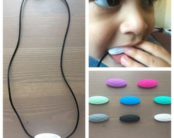 Silicone Chewing Necklace! Chewlery, Sensory Chewing Necklace, Autism Chew Necklace