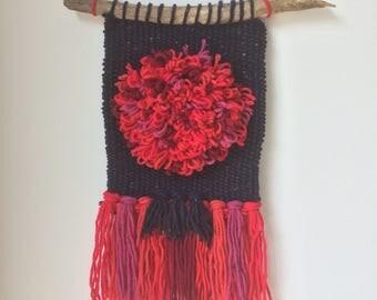 Wool weaving Hanging