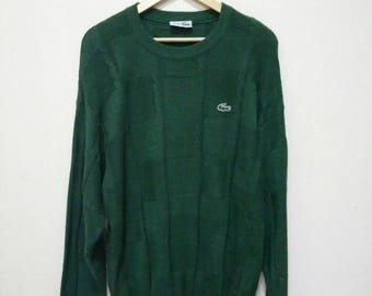 Chemise Lacoste Knit Sweater Jumper Pullover Knit Shirt Knitwear