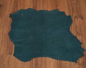 Dark Turquoise Lambskin Leather Skin (2017073009)