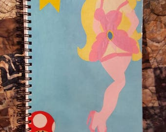 Video Game Princess Pinup-style Fanart Notebook