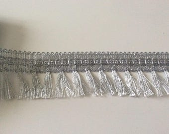 Silver fringe 4.5 centimeters for your creation
