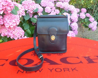 Vintage Black Coach Murphy Bag 9930 - Made in USA - EUC (Dustbag Included)