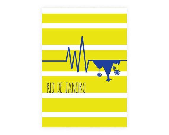Affiche Rio de Janeiro