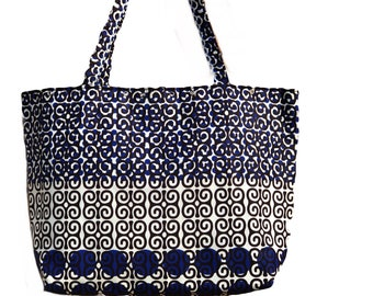 Large lovely African Fabric bag