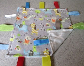 New! Handmade Tag Blanket <Animals> Free Shipping!