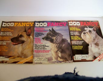 Dog Fancy Magazine year 1986