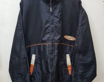 Vintage Pelle Pelle Marc Buchanan Windbreaker Sweater Jacket Big Logo Pelle Pelle Hip Hop Style Nice Design