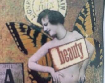 Art deco vintage paper craft magazine 1990's,  90's , stamping
