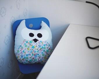 Pillow Owl Pillow Cushion Fanny pillow Decorative pillow Soft toy Kids gift idea Owl pillow Non-allergenic Owls Decor children's room