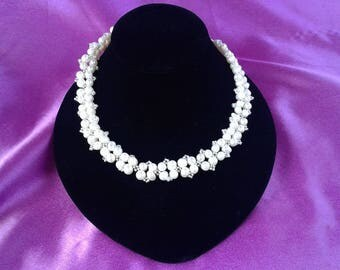 Double Stranded Freshwater Pearl Necklace