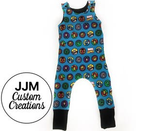 Marvel grow with me romper