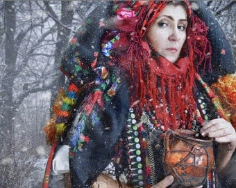 Lady Shaman ~ Festival Medicine Bag