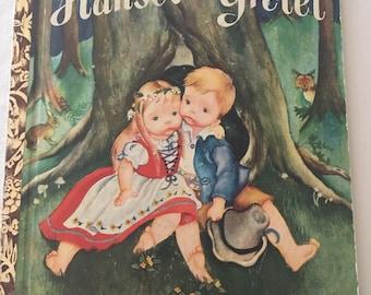 Hansel and Gretel A Little Golden Book 1954