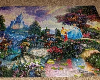 Disney Cinderella Thomas Kinkade Puzzle
