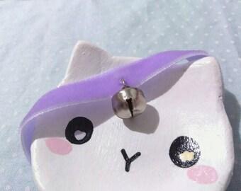 Plain Bell Choker (Fairy Kei, Lolita, Pet Play, CG/L)