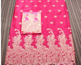 African lace fabric. Indian lace. Raw silk fabric. Indian wrapper. Lace fabric. Wrapper and lace fabric. Organza fabric. Dubai fabric.