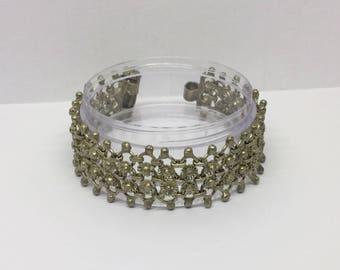 silver ethnic tribal bracelet #427