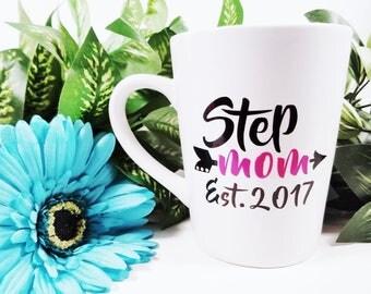 Step Mom Est | New Step Mom | New Bonus Mom | Gift for Step Mom | Gift for Bonus Mom | Mothers Day Gift | New Stepmom | Gift for Stepmom