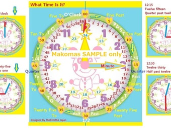 Educational Learn Time Clock