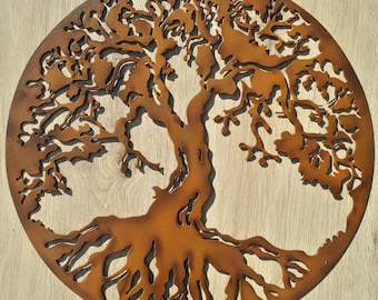 """Tree Of Life, Hand Painted, 23.5"""" (60 cm)"""