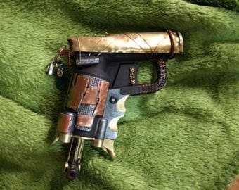 Copper Steampunk Peashooter Made From Nerf Jolt Single Shot Dart Gun