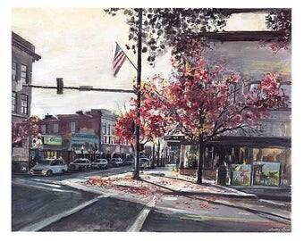 Last Fall on Sherman Street (CDA)