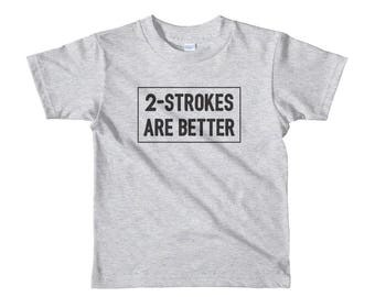 2 Strokes Are Better