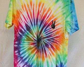 25% OFF ENTIRE SHOP Adult Size M - Ready To Ship - Unisex - Festival - Tie Dyed - T-shirt - 100 Percent Cotton - Free Shipping within Aus