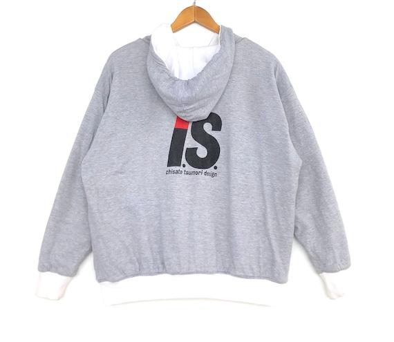 Issey Miyake Jacket Vintage Issey Miyake Distressed Sweatshirt Issey Miyake Vintage Sweater Jacket Made in Japan Size 3 Mens Size M/L foezGPjGG