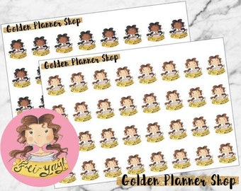 Fri-yay Character Planner Stickers - Sophie and Amanda