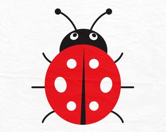 Ladybug SVG, Ladybird svg, lady bug beetle Svg Cut Files, svg, dxf, ai, eps, png cut files, Instant download.