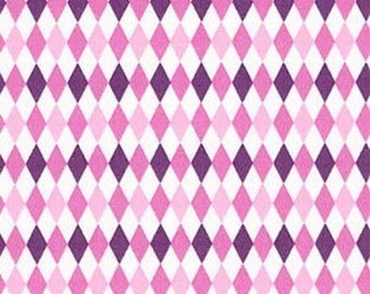 MICHAEL MILLER fabrics MINI MIKES pink patchwork fabric