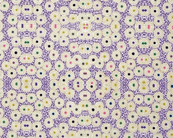 First Lord - DAISY by Rowan Fabrics purple patchwork fabric