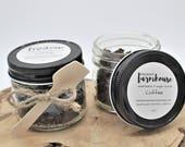 Coffee Sugar Scrub - Coffee Grounds - Exfoliate - Sugar Scrub - Mason Jar Sugar Scrub - Farmhouse - Farmhouse Style - Bath Scrub Body Scrub