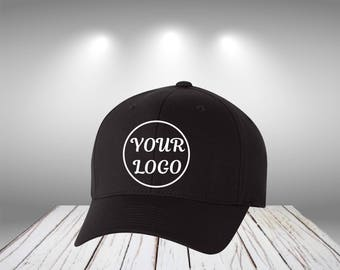 Cotton Blend Cap  Customize Cap  Personalized Cap Your Text Here Cap Your Log Here Customize Cotton Cap Custom Cap